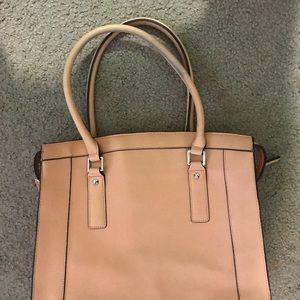 Handbags - Salmon/peach bag